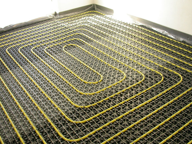 Sistema di riscaldamento a pavimento